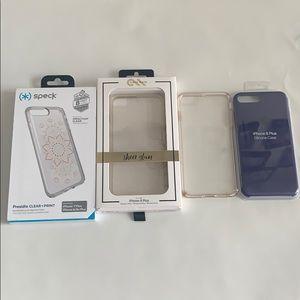 x4 iPhone 6s/7/8 PLUS Phone Case Lot